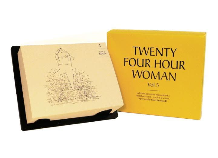 24 Twenty Four Hour Woman Scott Lenhardt Calendar Katie Chang Writer Food Wine FWx